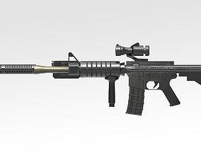 3D model Colt C8 Canada Rifle