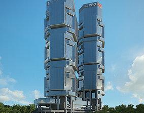 3D model Lippo Centre