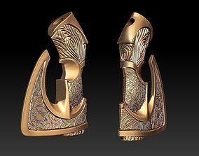 PENDANT CELTIC AXE silver 3D printable model