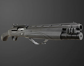 3D asset Remington V3 Tac-13