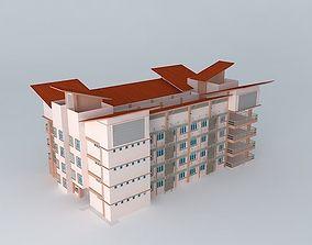 building Hostel 3D