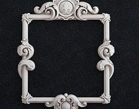 3D printable model Frame baroque 1