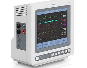 ECG Monitor 2 3D model