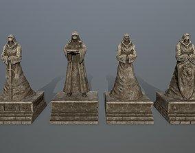 3D statue full set