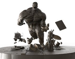 Incredible Hulk 3D printable model