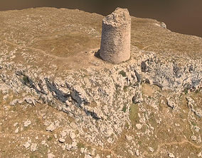 3D model game-ready Landscape m2