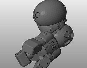 3D print model CHIBI-TECH SD - DEMOLISHER ARM