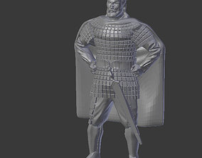 3D printable model King and mantle