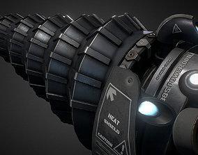 Berserker Drill 3D asset