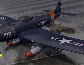 3D Martin AM-1 Mauler