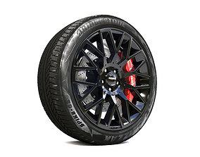 racing Wheel 3d model