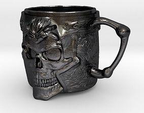 Skull cup 3D printable model