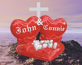 Custom Valentine for John and Connie 3D