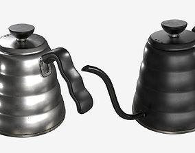 3D model Tea Coffee Drip Kettle - 002