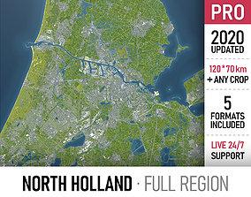3D model North Holland - full region