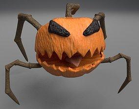 3D model animated Pumpkin HALLOWEEN