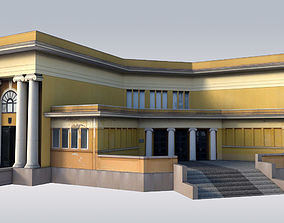 3D model Classical Art Gallery