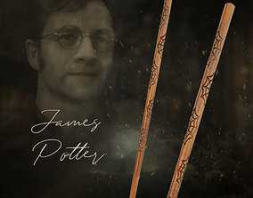 James Potter Wand - Harry Potter 3D print model