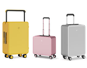 3D model fasion TUPLUS Luggage Set