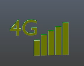 Character 4G 3D model