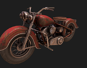 motorcycle 3D asset realtime