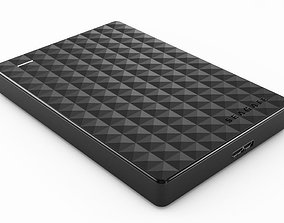 Seagate Expansion External HDD 3D model