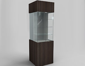 Display Cabinet And Showcase 3D model realtime