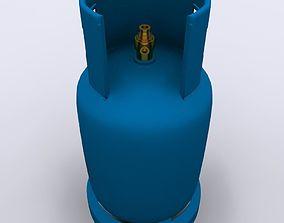 3D model Gas Cylinder 03