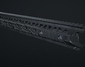 3D model Handguard LVOA 16 inch