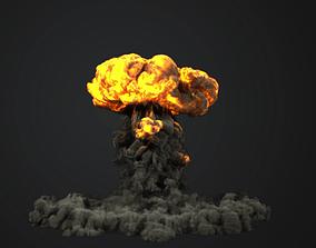 3D model FumeFX Nuclear Explosion