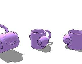 Mug Custon 3D print model