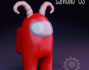AMONG US EVIL 3D print model