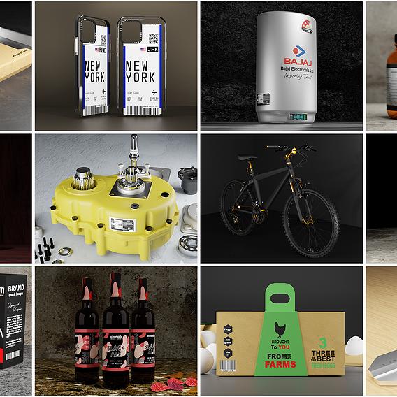 3D Modeling / 3D Rendering / Industrial & Product Design