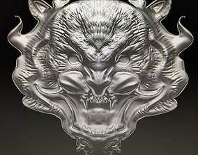 3D demon Tiger
