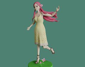 MEMEME girl - posable 3D