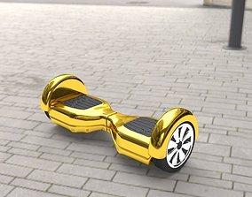 color 3D Gold Hover Board