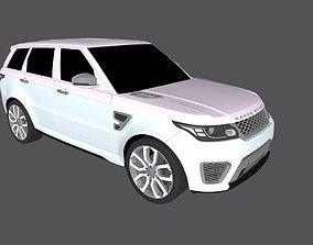 Land Rover Range Rover Sport SVR Autobiography 3D model