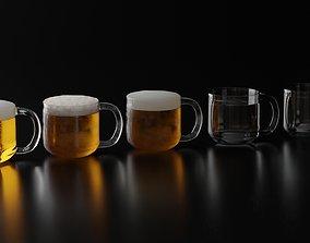Beer Glass 8 3D