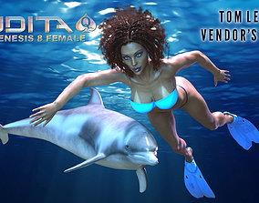 3D model Judita for Genesis 8 Female