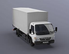 3D Mitsubishi FUSO Canter with tent body