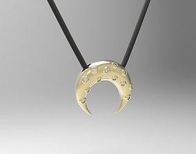 Simple minimalist moon 3D printable model