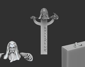 3D printable model Gandalf Bookmark - Lord of the Rings