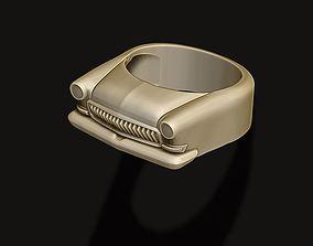 3D printable model car ring