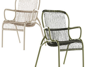 3D model Vincent Sheppard Loop dining chair