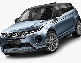 Land Rover Range Rover Evoque 2020 3D