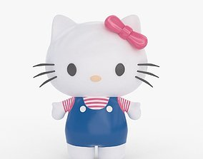 3D model Hello Kitty