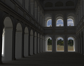3D Roman basilica