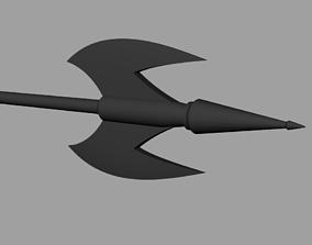 3D print model Battle Axe of Black armor Boba Fett