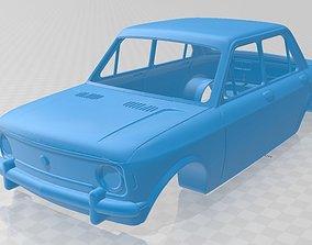 Fiat 128 Printable Body Car