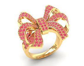 3D print model 558 Bow Tie Ring